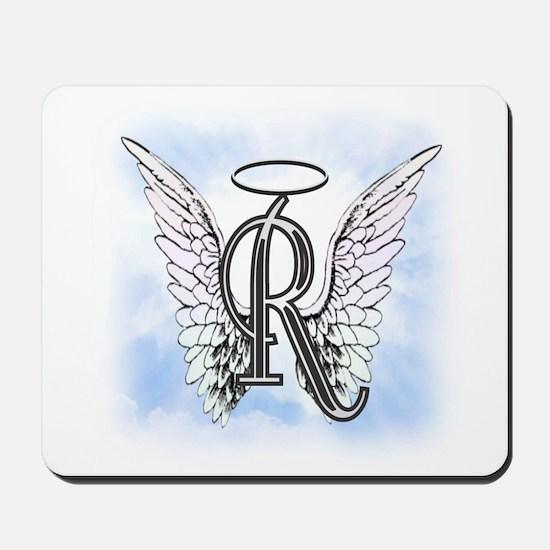 Letter R Monogram Mousepad