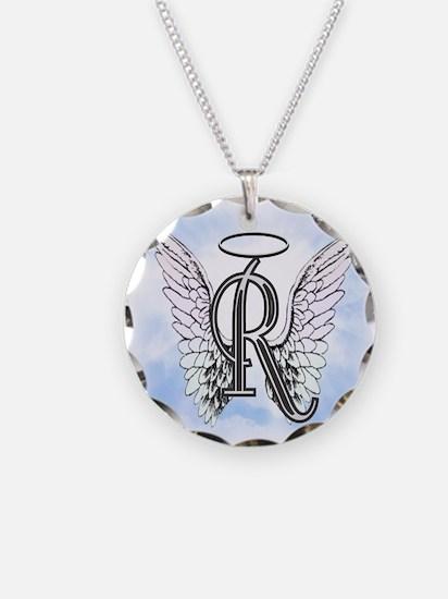 Letter R Monogram Necklace