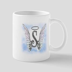 Letter S Monogram Mugs
