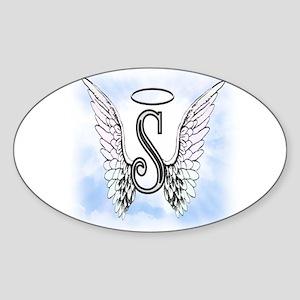 Letter S Monogram Sticker