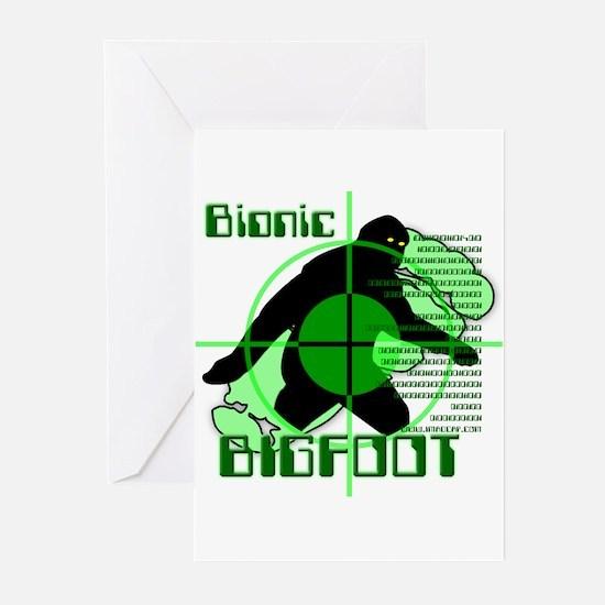 Bionic Bigfoot Greeting Cards (Pk of 10)