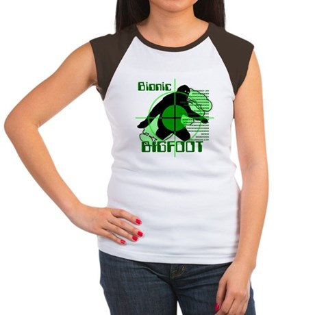 Bionic Bigfoot Women's Cap Sleeve T-Shirt