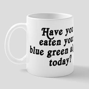 blue green algae today Mug