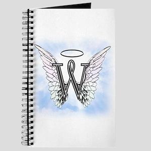 Letter W Monogram Journal