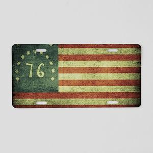 Spirit of 1776 Aluminum License Plate