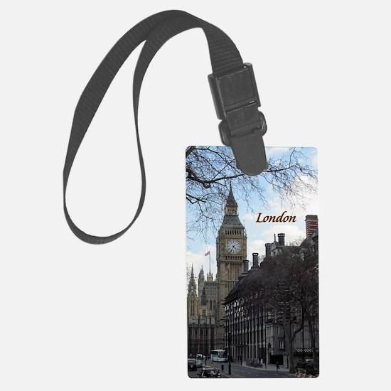 Cute London Luggage Tag