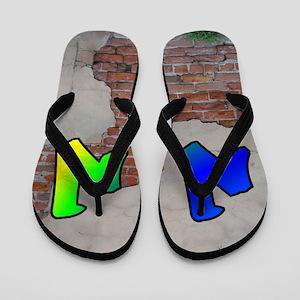 GRAFFITI #1 N Flip Flops