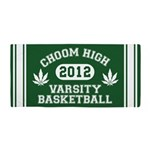 Choom High Varsity Basketball Beach Towel