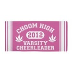 Choom High Varsity Cheerleader Beach Towel