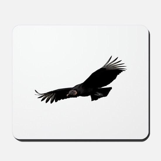 Black Vulture Mousepad