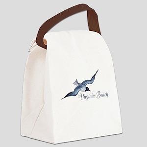 Virginia Beach Canvas Lunch Bag