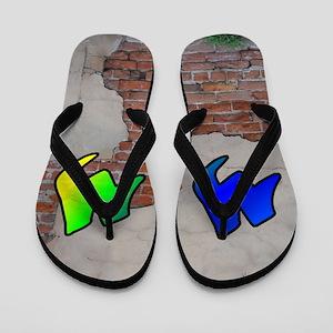 GRAFFITI #1 M Flip Flops