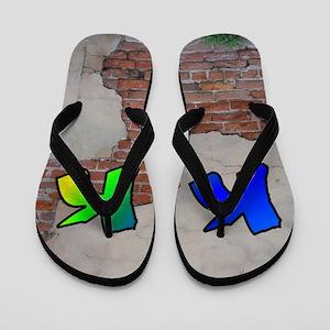 GRAFFITI #1 K Flip Flops