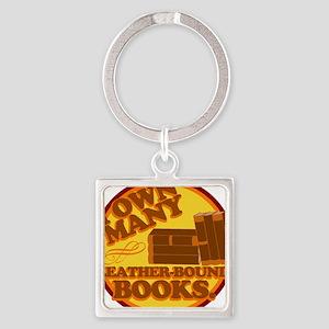 Leather Bound Books Keychains
