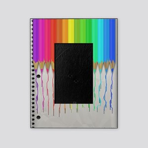 Melting Rainbow Pencils Picture Frame