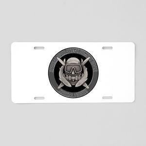SF Spec Ops Diver Aluminum License Plate