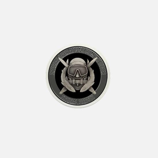 SF Spec Ops Diver Mini Button