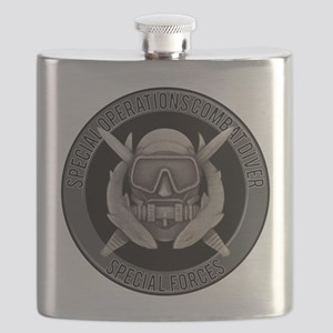 SF Spec Ops Diver Flask