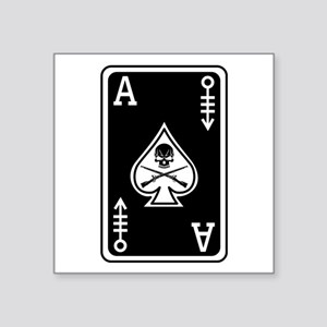 11C Ace of Spades - 120 Sticker