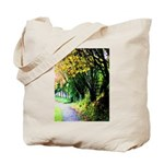 Tree-Lined Path Tote Bag