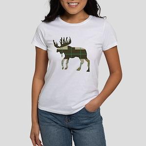 Plaid Moose T-Shirt
