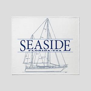Seaside - Throw Blanket