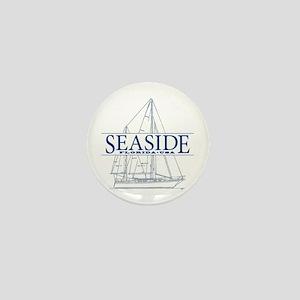 Seaside - Mini Button