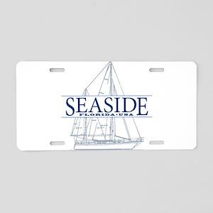 Seaside - Aluminum License Plate