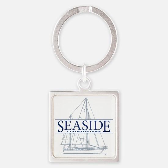 Seaside - Square Keychain