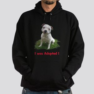 Smiling Pitbull Adopted Hoodie