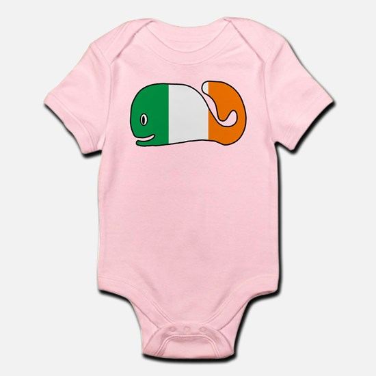 Irish Whale Infant Bodysuit