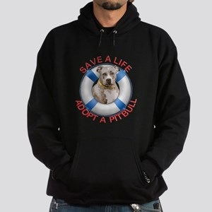 Life Preserver Fawn Pitbull Hoodie
