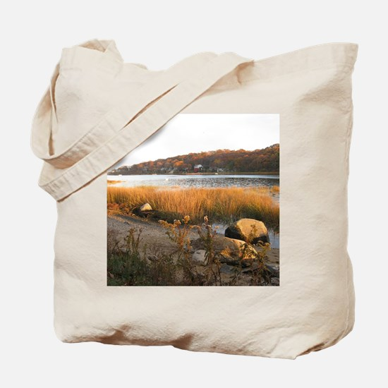 Bayville Creek Long Island N.Y. Tote Bag
