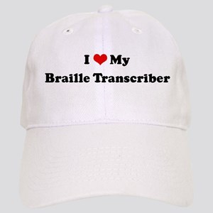 I Love Braille Transcriber Cap