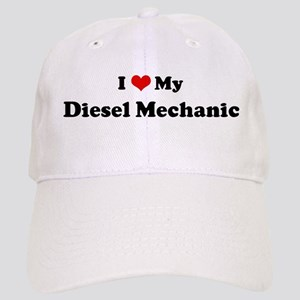 I Love Diesel Mechanic Cap