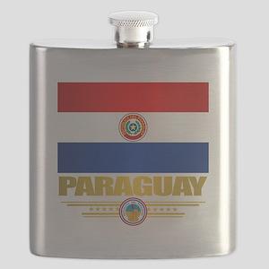Paraguay National Flag Flask