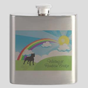 Rainbow Bridge fot Pitbulls copy Flask