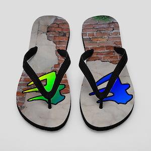 GRAFFITI #1 E Flip Flops