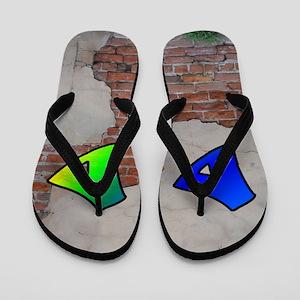 GRAFFITI #1 D Flip Flops