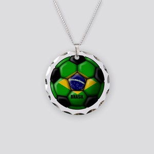 Brasil Ball Necklace Circle Charm