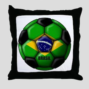 Brasil Ball Throw Pillow