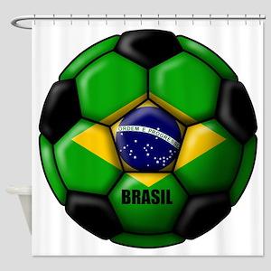 Brasil Ball Shower Curtain