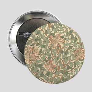 "William Morris Honeysuckle 2.25"" Button"