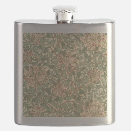 William Morris Honeysuckle Flask