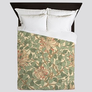 William Morris Honeysuckle Queen Duvet