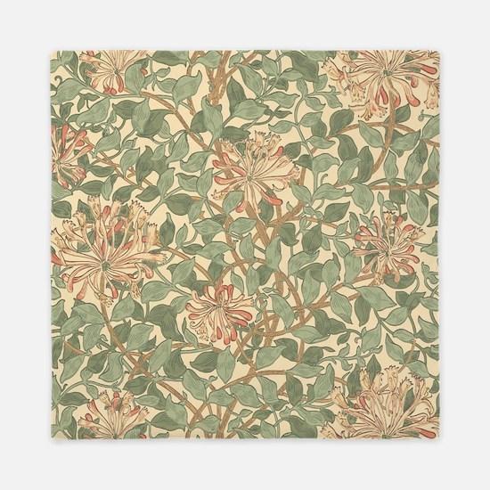 William Morris Honeysuckle Queen Duvet