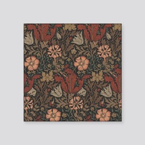 "William Morris Compton Square Sticker 3"" x 3"""