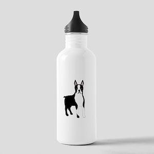 Boston Terrier Water Bottle