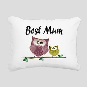 Best Mum Rectangular Canvas Pillow