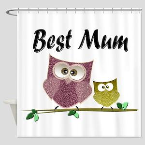 Best Mum Shower Curtain